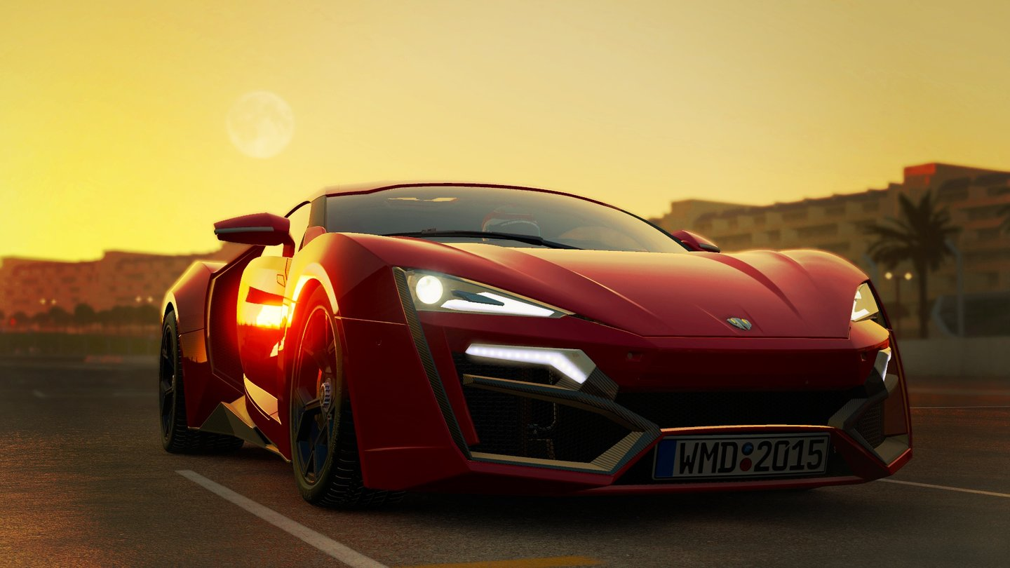 Project Cars - kostenloser DLC-Wagen Lykan HyperSport