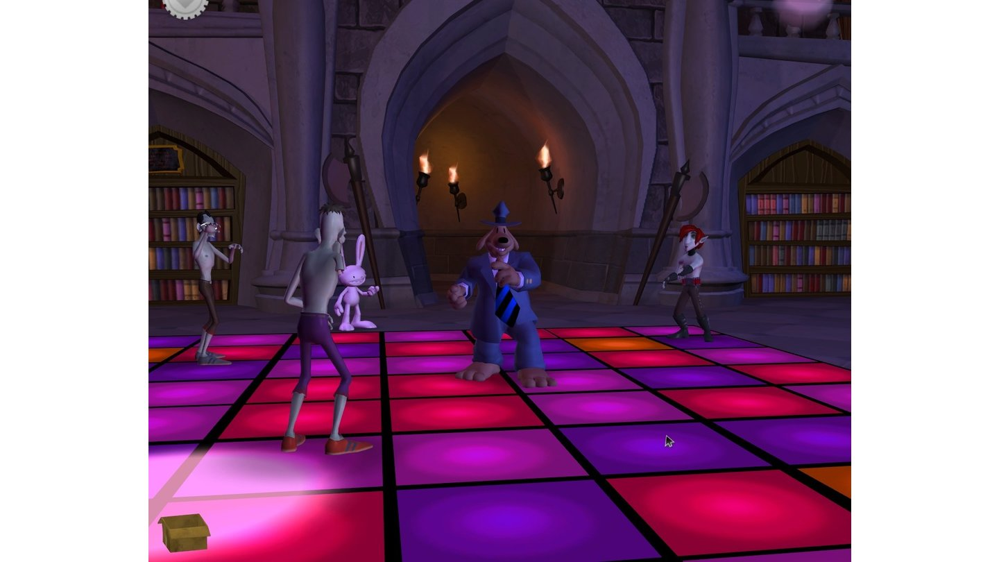 Sam & Max Night of the Raving Dead 9