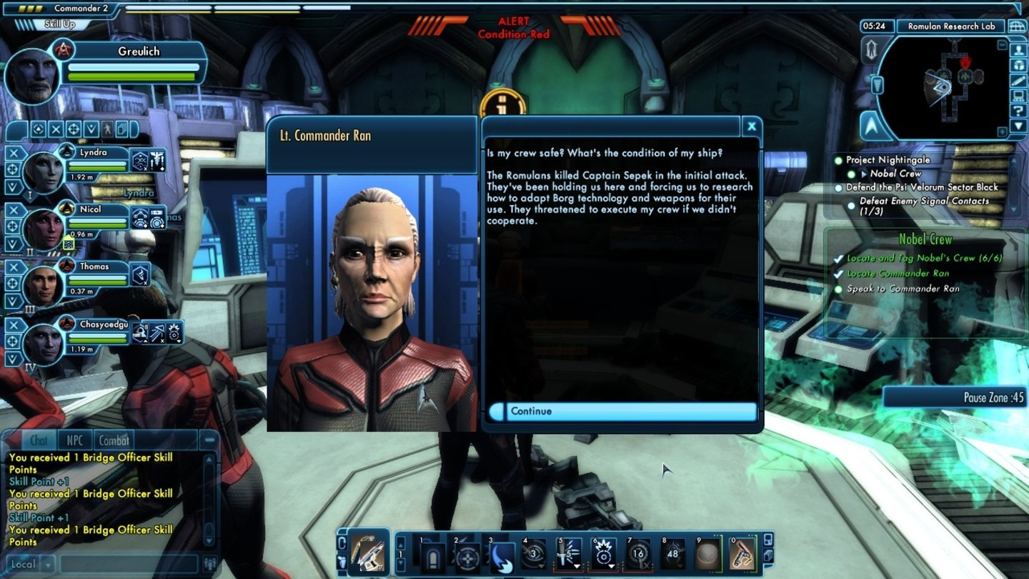 Star Trek Online - Beta-Screenshots