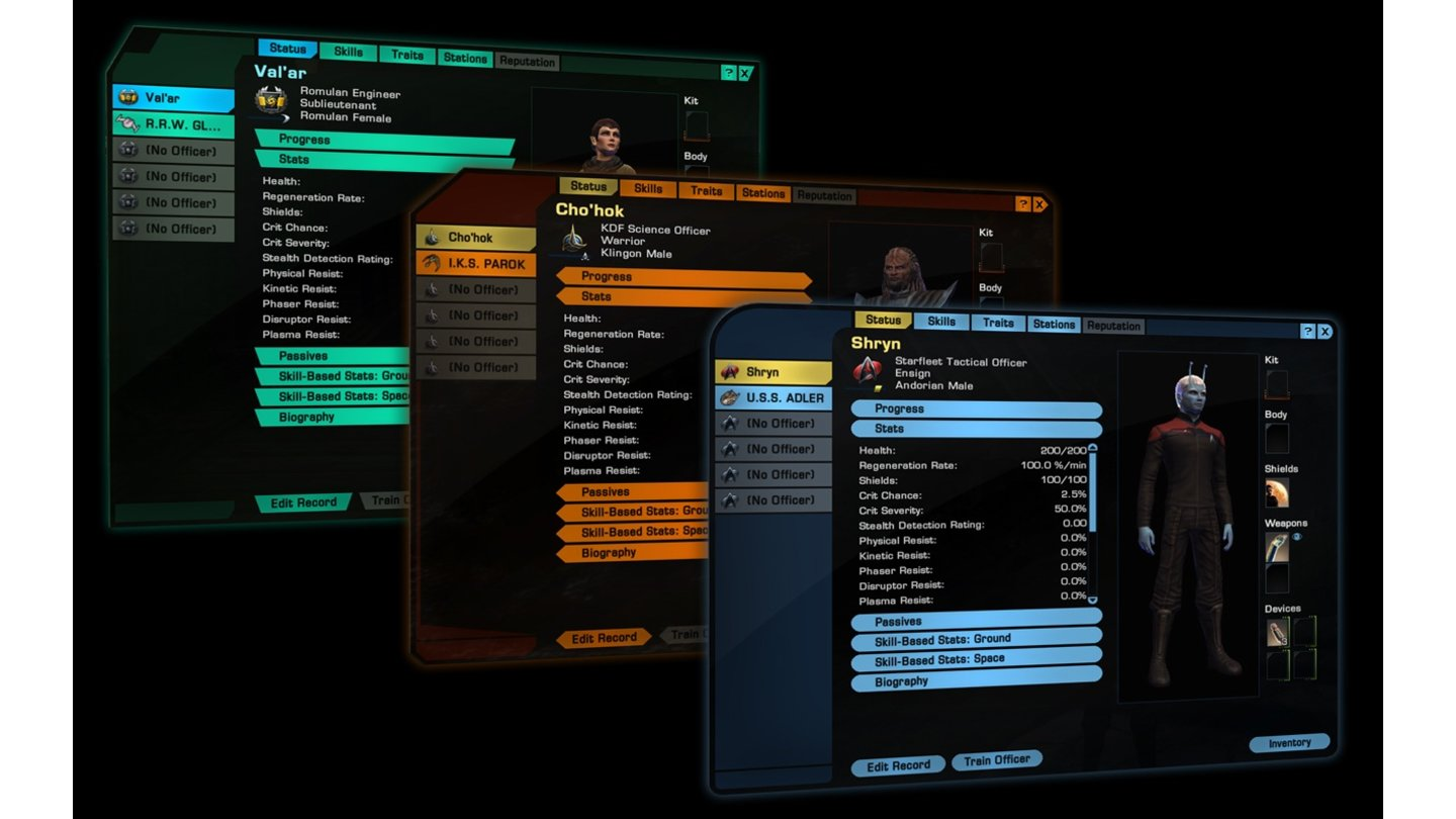 Star Trek Online: Screenshots aus dem Update »Legacy of Romulus«