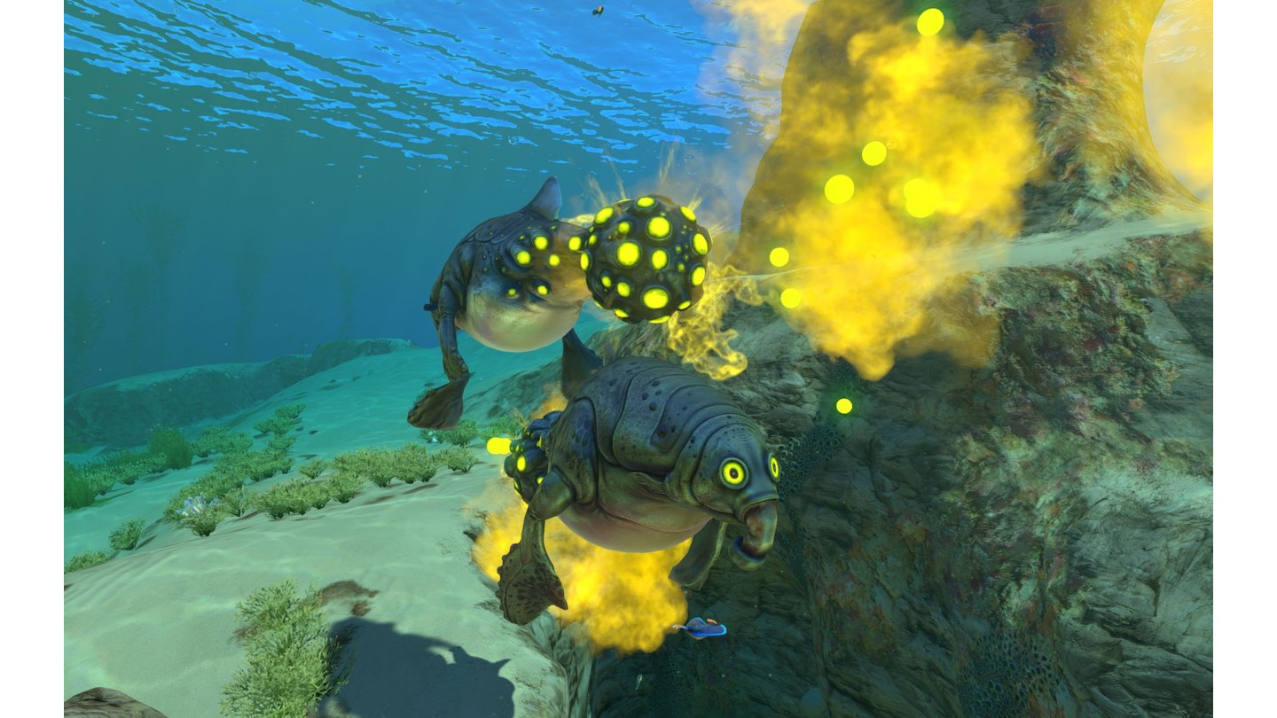 Subnautica - Screenshots zum Power-Nap-Update