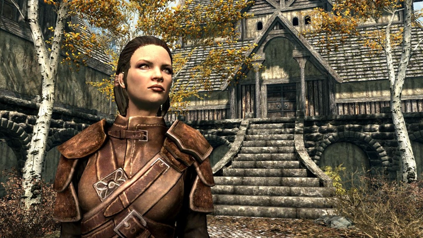 The Elder Scrolls 5: Skyrim - E3-Screenshots: Riften