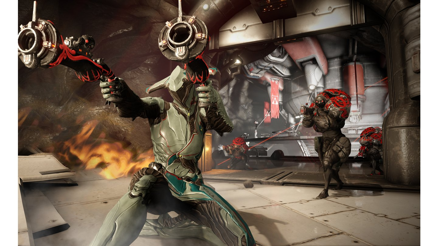 Warframe - Screenshots zur Story-Kampagne »The War Within«