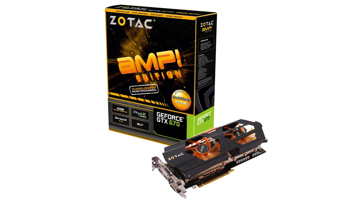 Zotac Geforce GTX 670 AMP