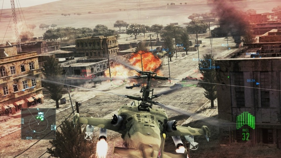 Namco Bandai wechselt mit Ace Combat: Assault Horizon von Games for Windows Live zu Steamworks.