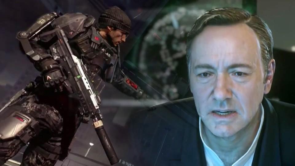 Call of Duty: Advanced Warfare - Liste der englischen Sprecher