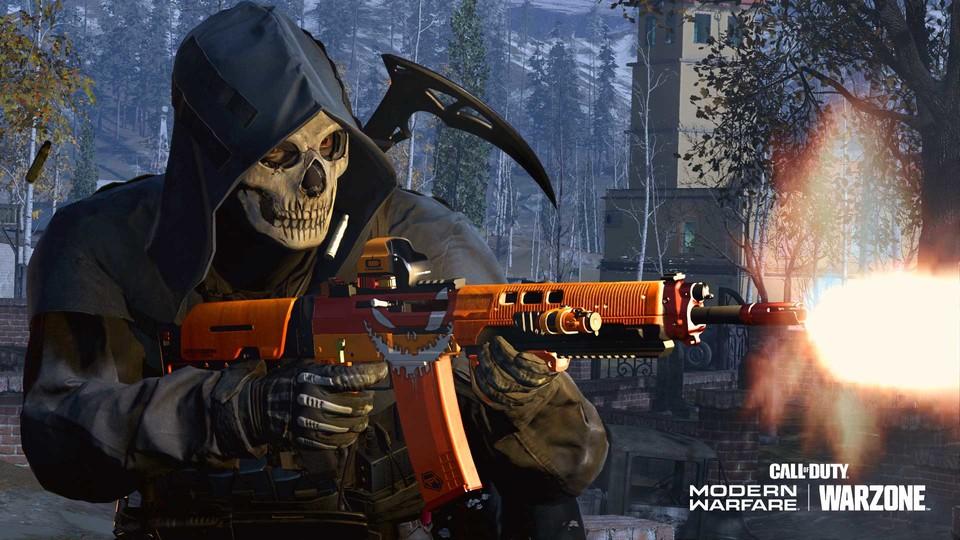 Diese Gewehrhaut ist die große Belohnung für die Schnitzeljagd in Call of Duty: Warzone.