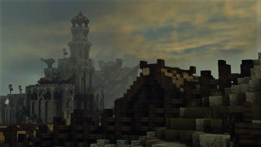 Minecraft Middle-earth shows the kingdom of Rohan in the trailer