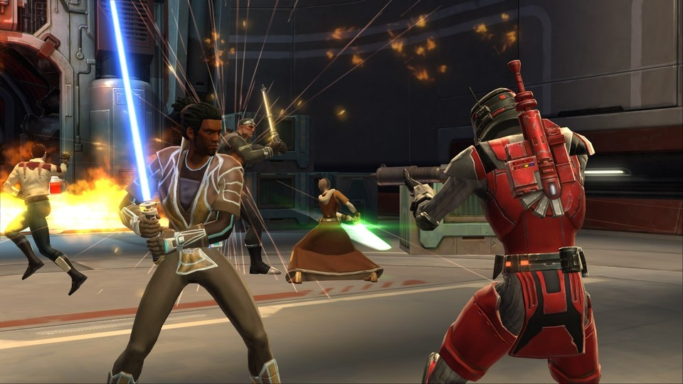 Star Wars: The Old Republic bietet auch Rollenspiel-Server.