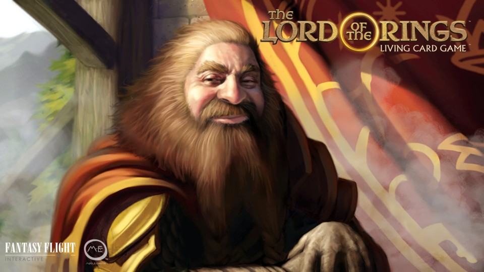 The Lord of the Rings: The Living Card Game setzt auf bekannte Charaktere aus der Buchvorlage.