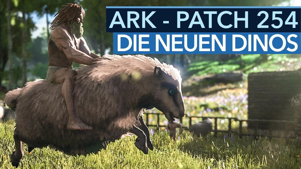 Ark: Survival Evolved   Die Neuen Dinos Aus Patch 254 Im Video   GameStar