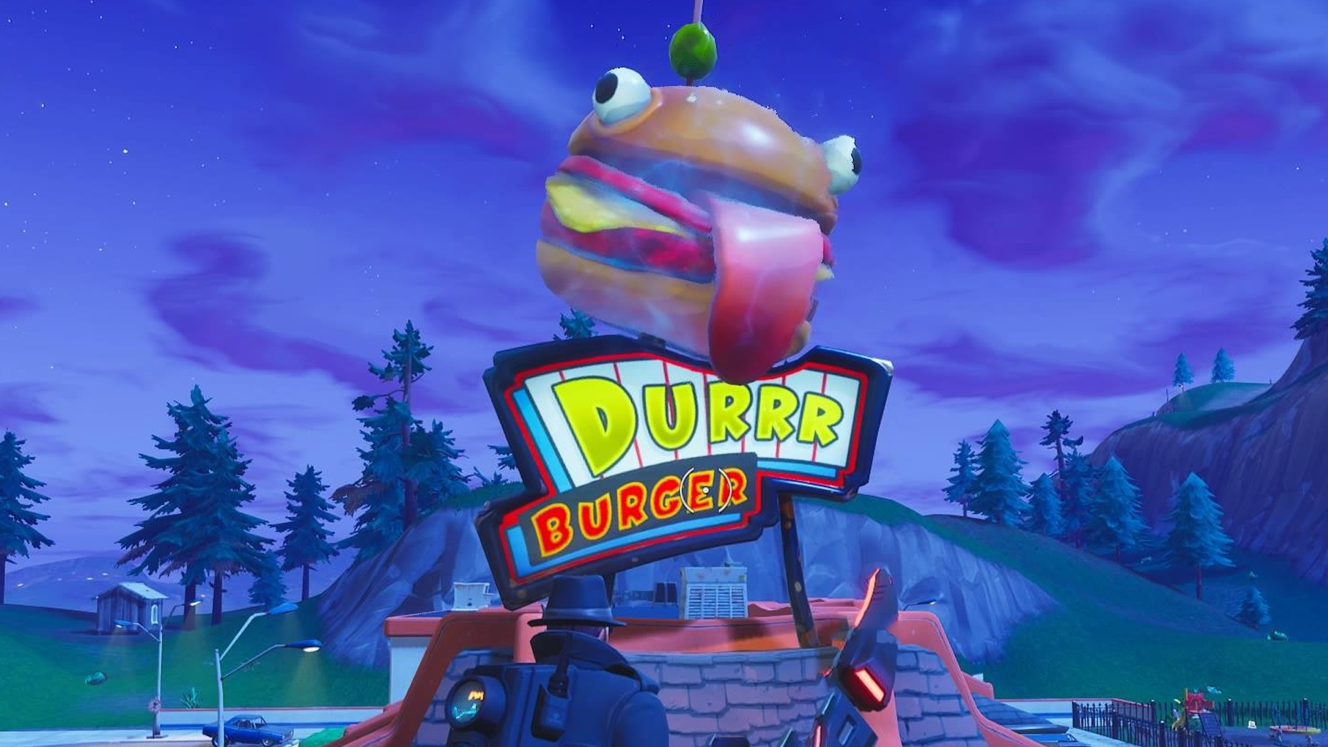 Fortnite Season 5 Burger In Der Wuste Lamas Auf Der Ganzen Welt