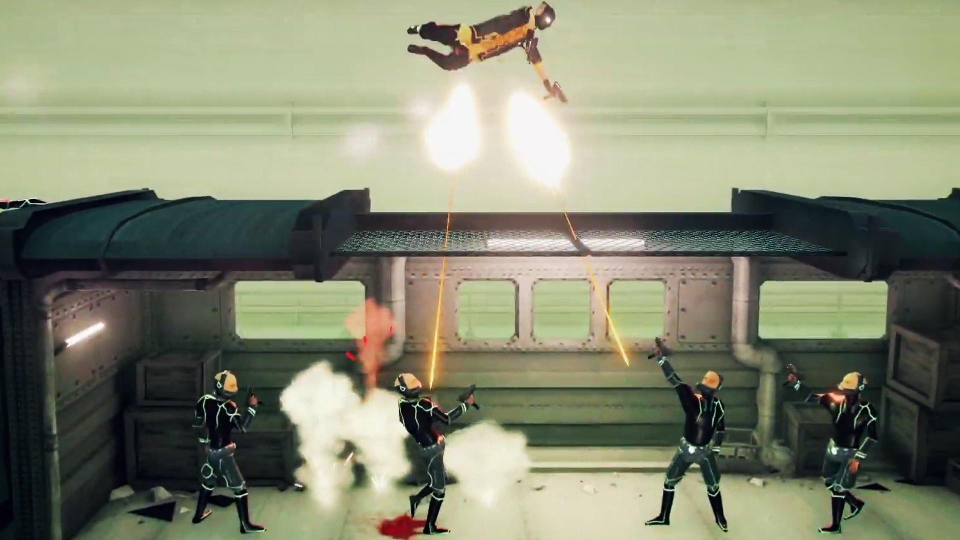 Im Trailer zu My Friend Pedro gibt's ein Blutbad im Hype Train