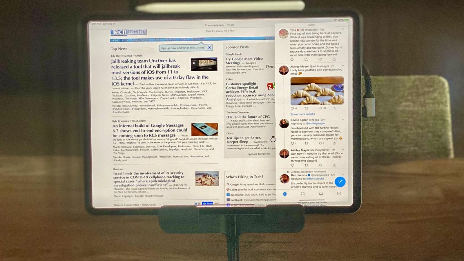 iPad als Desktop-Ersatz? Ex-Windows-Chef zeigt, wie's geht