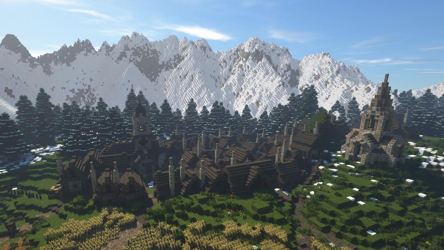 In Minecraft entsteht ein komplettes MMORPG & Release ist morgen