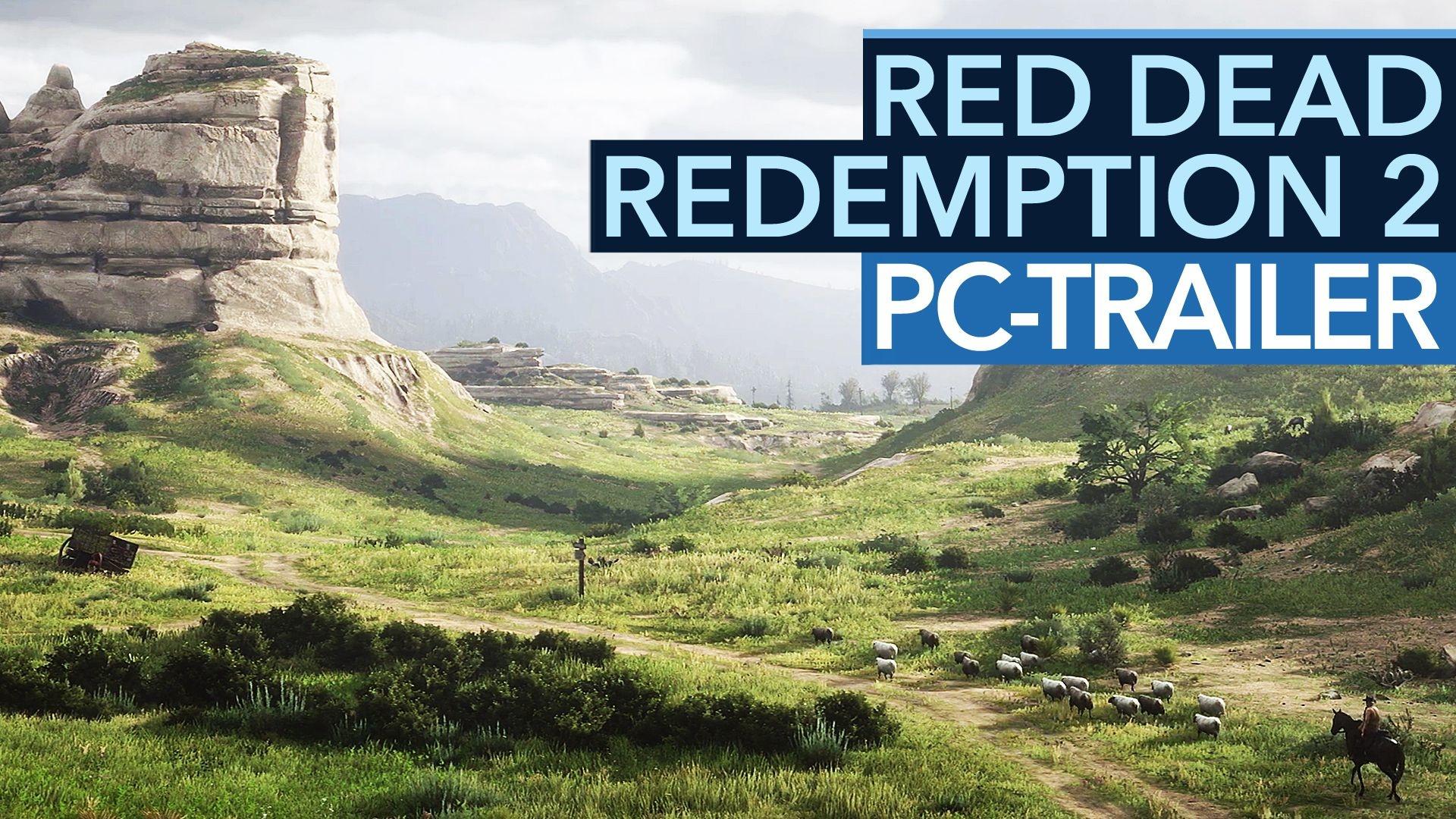 Red Dead Redemption 2: Erster PC-Trailer verspricht noch mehr Grafikdetails als die PS4-Version