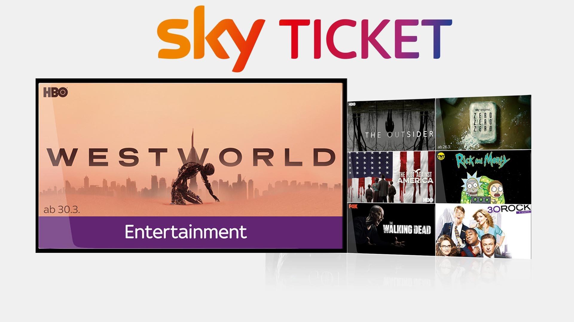 Sky Ticket Angebot: 2 Monate Serien schauen für nur 4,99 Euro