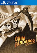 Cover zu Grim Fandango Remastered - PlayStation 4