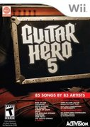 Cover zu Guitar Hero 5 - Wii