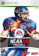Cover zu NCAA Football 08 - Xbox 360