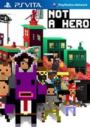 Cover zu Not a Hero - PS Vita