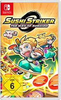 Cover zu Sushi Striker: The Way of Sushido - Nintendo Switch