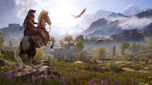 Assassin's Creed Odyssey läuft auf Google Stadia.