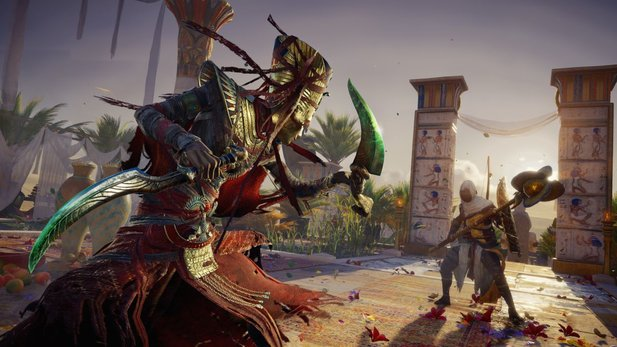 "Assassin's Creed: Origins - Gameplay-Video mit vielen Details zum ""Fluch der Pharaonen""-DLC"