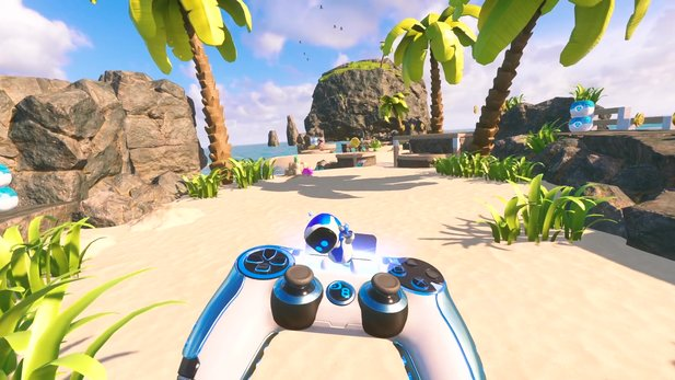 Astro Bot Rescue Mission - Launch-Trailer des VR-Jump'n'Runs