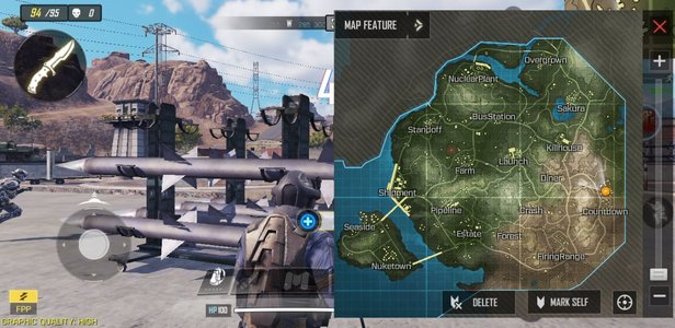 Call of Duty Mobile Battle Royale Map