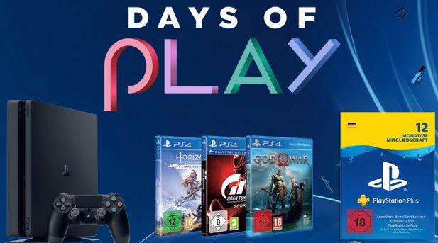 days of play 12 monate ps plus konsolen spiele und. Black Bedroom Furniture Sets. Home Design Ideas