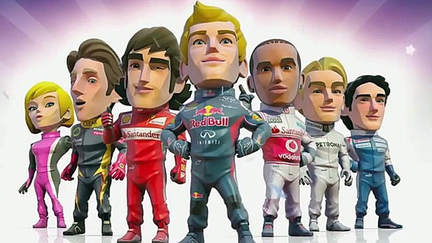 Gameplay-Trailer von F1 Race Stars