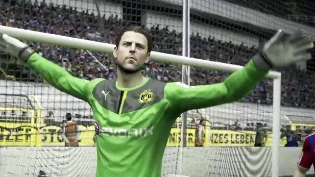 FIFA 15 - Gameplay-Trailer: Next-Gen-Torhüter