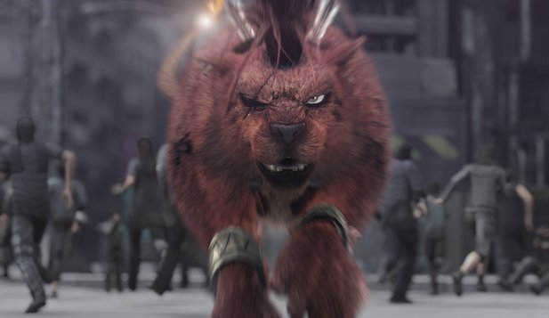 Im Final Fantasy 7-Remake wird Red XIII zum KI-Gastcharakter degradiert.