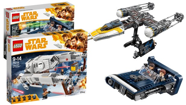 Lego Triple Force Day