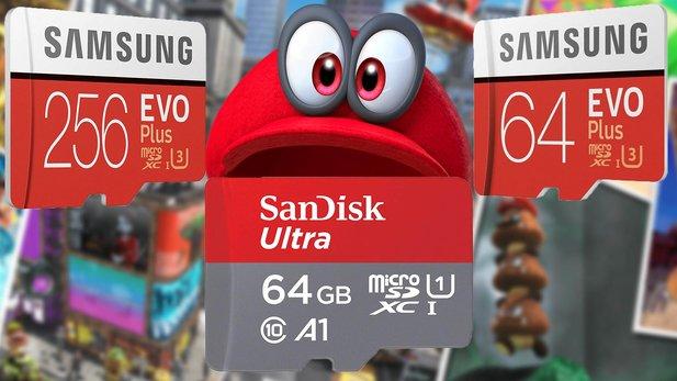 Beste Sd Karte.Das Sind Die Besten Nintendo Switch Micro Sd Karten 2019