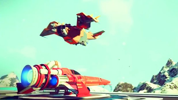 No Man's Sky - Gameplay-Trailer »Galaxie«