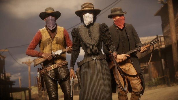 Red Dead Online - Trailer zum großen Frontier Pursuits-Update