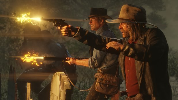 Das Gunplay in Red Dead Redemption 2 funktioniert bestens.