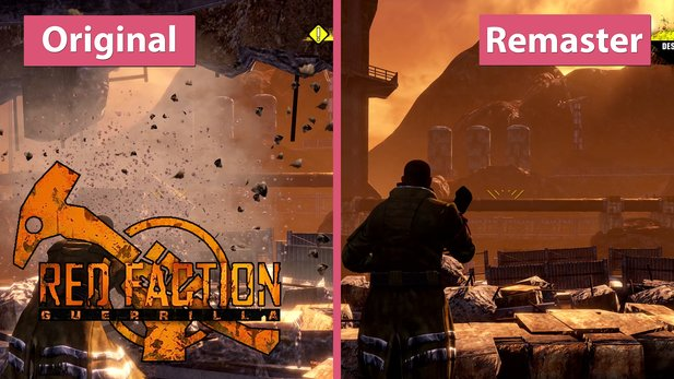 Red Faction Guerrilla - Die neue Re-Mars-Tered gegen die Steam Edition im Grafikvergleich