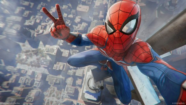 Der PS4-Blockbuster Spider-Man im Test.