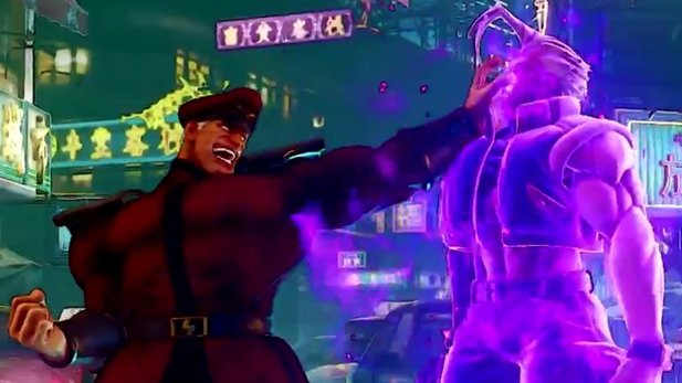 Street Fighter 5 - Gameplay-Trailer: M. Bison ist zurück