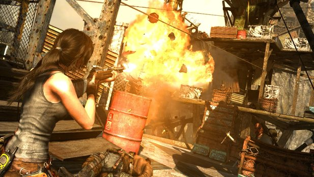Tomb Raider: Definitive Edition läuft mit 30 Frames pro Sekunde.