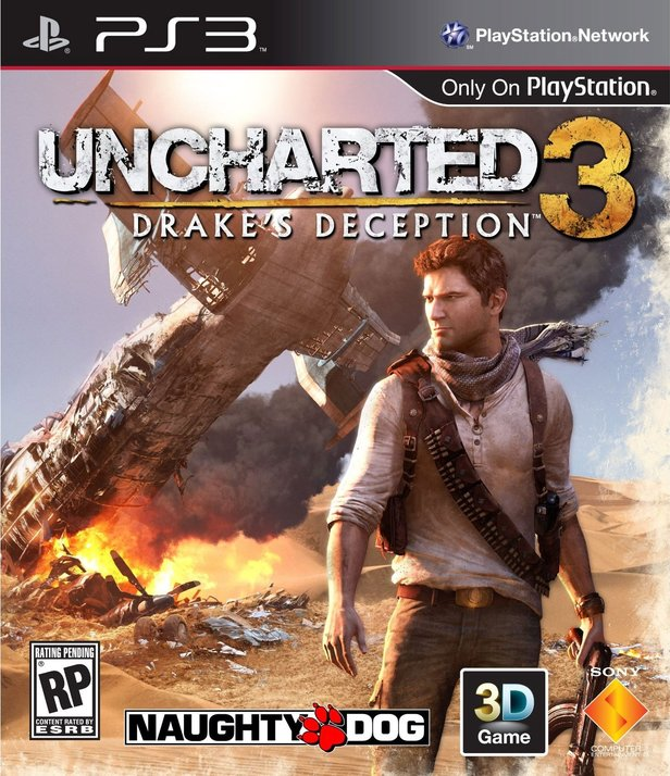 Uncharted 3: Drake's Deception - Packung