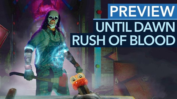 Until Dawn: Rush of Blood - Preview-Video zum PlayStation-VR-Shooter