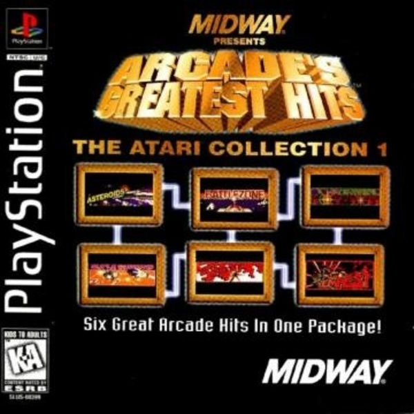 Cover zu Arcade's Greatest Hits: The Atari Collection 1