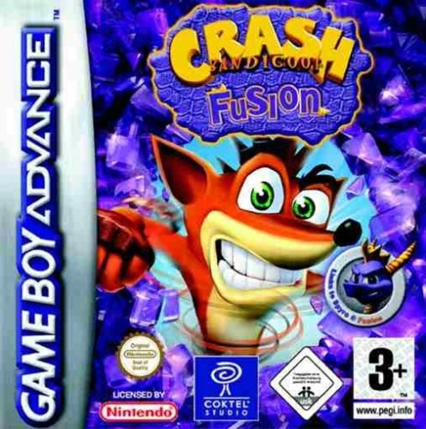 Cover zu Crash Bandicoot Fusion