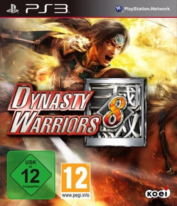 Cover zu Dynasty Warriors 8