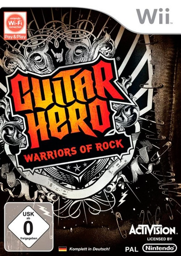Cover zu Guitar Hero: Warriors of Rock