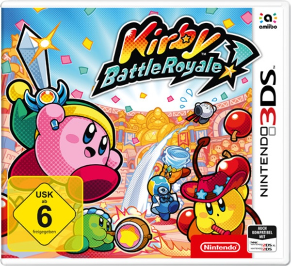 Cover zu Kirby Battle Royale